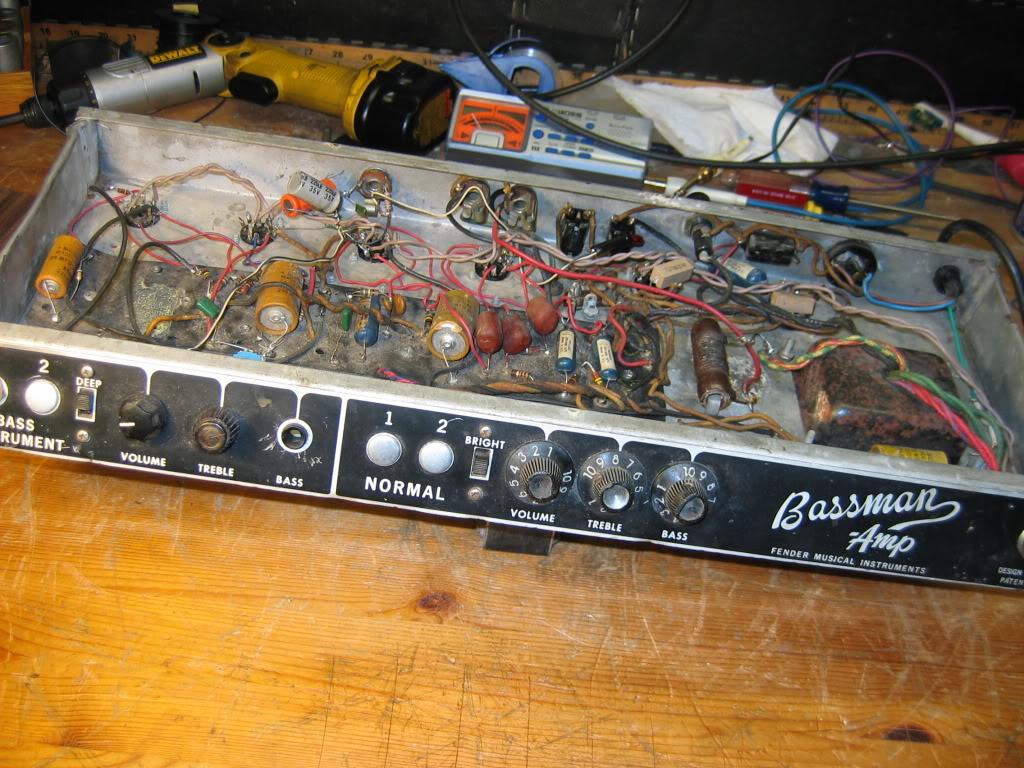 My Big Fat '66 Bassman Restoration |